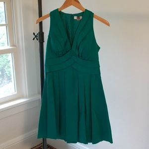Teal Blue Green Calvin Klein Dress Size 4